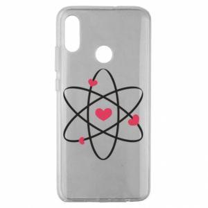 Huawei Honor 10 Lite Case Molecule of hearts