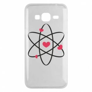 Phone case for Samsung J3 2016 Molecule of hearts
