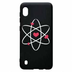 Samsung A10 Case Molecule of hearts