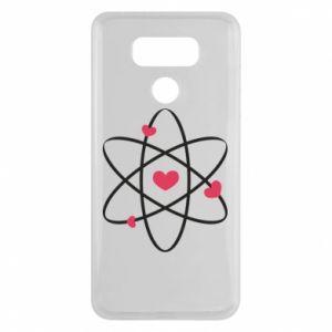 LG G6 Case Molecule of hearts