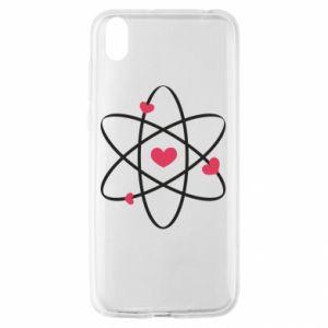 Huawei Y5 2019 Case Molecule of hearts