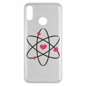 Huawei Y9 2019 Case Molecule of hearts