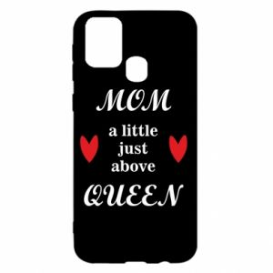 Etui na Samsung M31 Mom a tittle just above queen