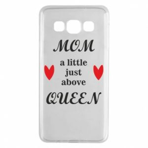 Etui na Samsung A3 2015 Mom a tittle just above queen