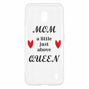 Etui na Nokia 2.2 Mom a tittle just above queen