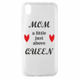 Etui na Huawei Y5 2019 Mom a tittle just above queen