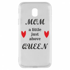 Etui na Samsung J3 2017 Mom a tittle just above queen