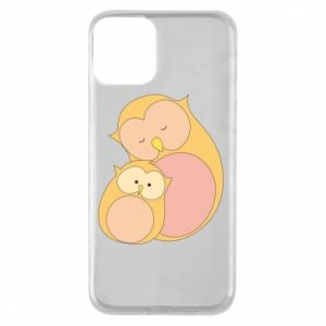 Etui na iPhone 11 Mom owl and baby owl