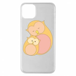Etui na iPhone 11 Pro Max Mom owl and baby owl