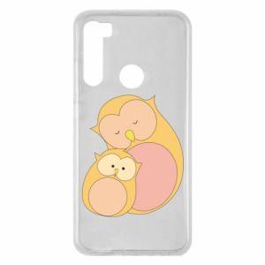 Etui na Xiaomi Redmi Note 8 Mom owl and baby owl