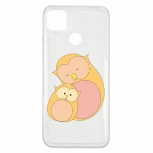 Etui na Xiaomi Redmi 9c Mom owl and baby owl