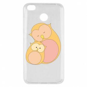 Etui na Xiaomi Redmi 4X Mom owl and baby owl