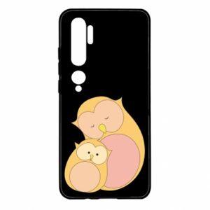 Etui na Xiaomi Mi Note 10 Mom owl and baby owl