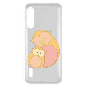 Etui na Xiaomi Mi A3 Mom owl and baby owl