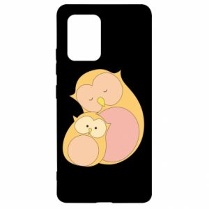 Etui na Samsung S10 Lite Mom owl and baby owl