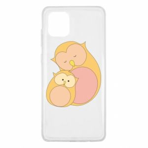 Etui na Samsung Note 10 Lite Mom owl and baby owl