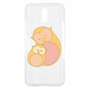 Etui na Nokia 2.3 Mom owl and baby owl