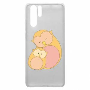 Etui na Huawei P30 Pro Mom owl and baby owl