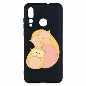 Etui na Huawei Nova 4 Mom owl and baby owl