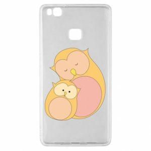Etui na Huawei P9 Lite Mom owl and baby owl