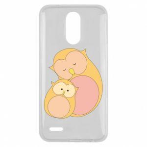 Etui na Lg K10 2017 Mom owl and baby owl