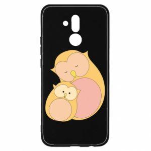 Etui na Huawei Mate 20 Lite Mom owl and baby owl