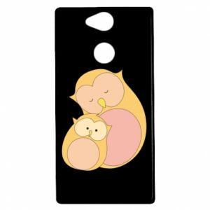 Etui na Sony Xperia XA2 Mom owl and baby owl