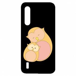 Etui na Xiaomi Mi9 Lite Mom owl and baby owl