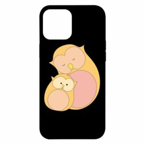 Etui na iPhone 12 Pro Max Mom owl and baby owl