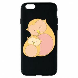 Etui na iPhone 6/6S Mom owl and baby owl