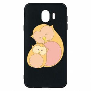 Etui na Samsung J4 Mom owl and baby owl