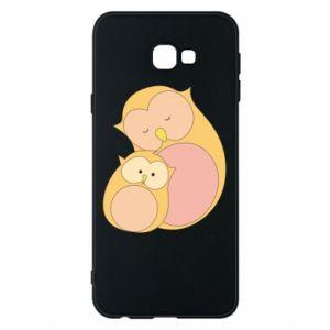 Etui na Samsung J4 Plus 2018 Mom owl and baby owl