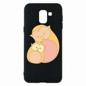 Etui na Samsung J6 Mom owl and baby owl