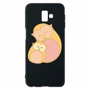 Etui na Samsung J6 Plus 2018 Mom owl and baby owl