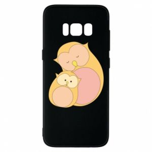 Etui na Samsung S8 Mom owl and baby owl