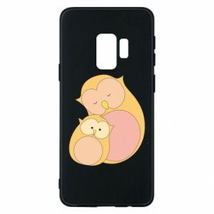 Etui na Samsung S9 Mom owl and baby owl