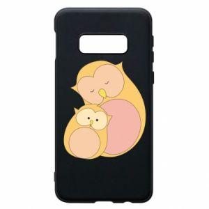Etui na Samsung S10e Mom owl and baby owl
