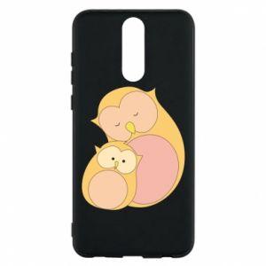 Etui na Huawei Mate 10 Lite Mom owl and baby owl
