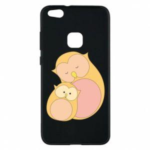 Etui na Huawei P10 Lite Mom owl and baby owl