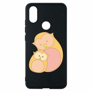 Etui na Xiaomi Mi A2 Mom owl and baby owl