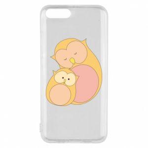 Etui na Xiaomi Mi6 Mom owl and baby owl