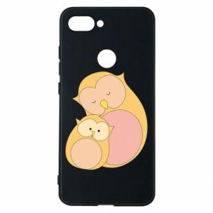 Etui na Xiaomi Mi8 Lite Mom owl and baby owl