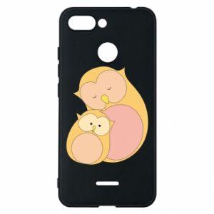 Etui na Xiaomi Redmi 6 Mom owl and baby owl