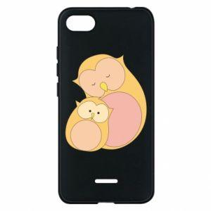 Etui na Xiaomi Redmi 6A Mom owl and baby owl
