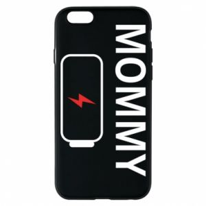 Phone case for iPhone 6/6S Mommy charge - PrintSalon