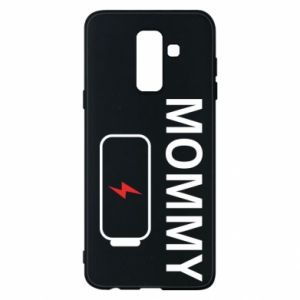 Phone case for Samsung A6+ 2018 Mommy charge - PrintSalon