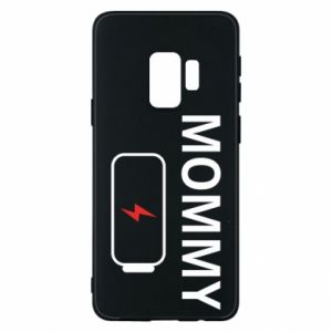 Phone case for Samsung S9 Mommy charge - PrintSalon