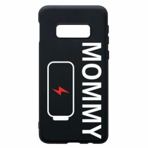 Phone case for Samsung S10e Mommy charge - PrintSalon