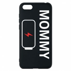 Phone case for Huawei Y5 2018 Mommy charge - PrintSalon