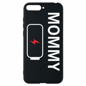 Phone case for Huawei Y6 2018 Mommy charge - PrintSalon